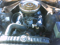 1970 Ford Maverick picture, engine