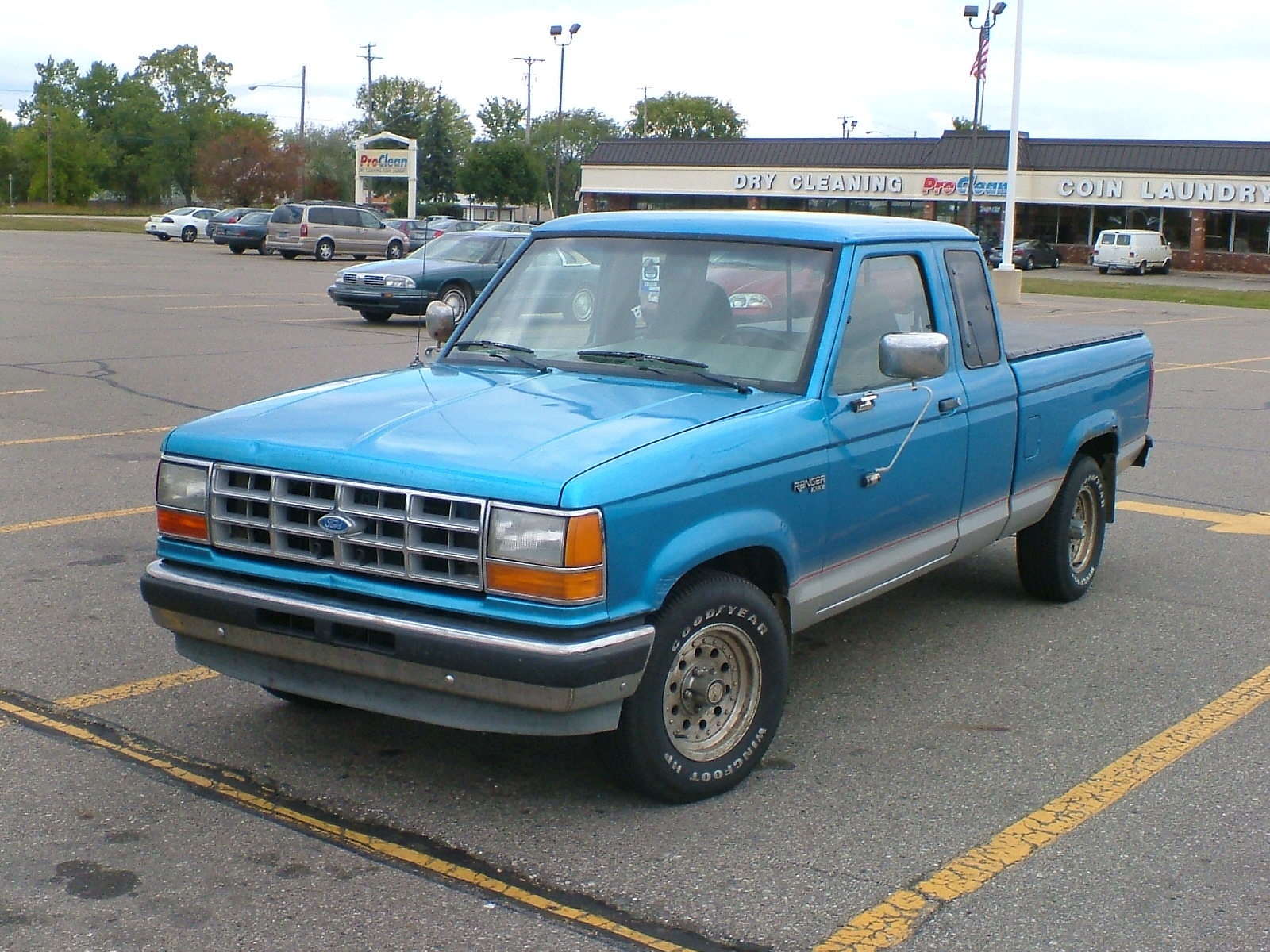 1992 ford ranger face