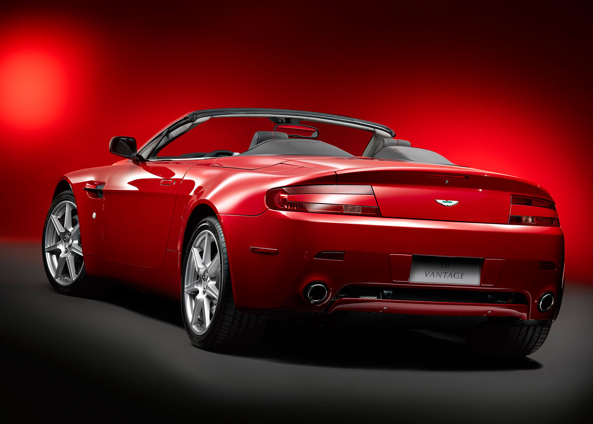 picture of 2007 aston martin v8 vantage roadster exterior. Cars Review. Best American Auto & Cars Review