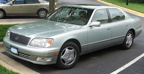 1998 lexus ls 400 review