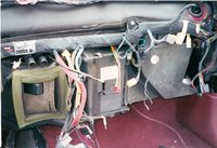 1991 Plymouth Acclaim 4 Dr LE Sedan, (HVAC) Heating Ventaliation and Air Conditioning Unit