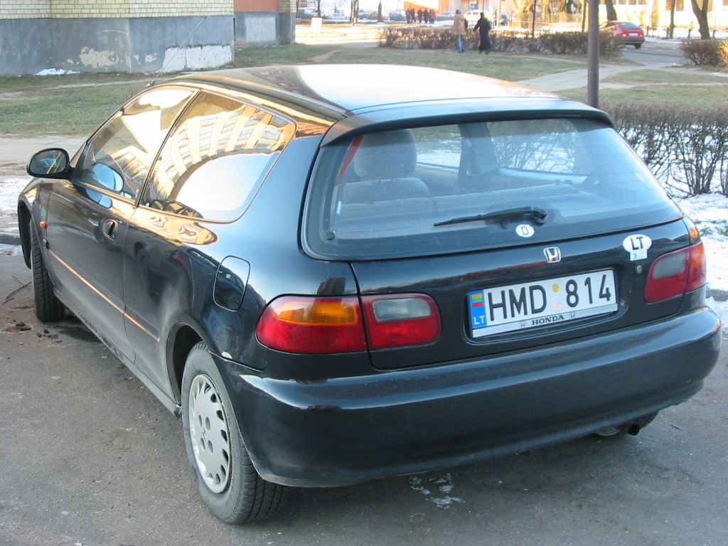 1993 honda civic hatchback - photo #35