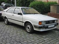 1986 Audi Coupe Overview