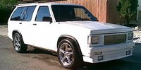 Picture of 1991 Chevrolet S-10 Blazer 4 Dr STD 4WD SUV, exterior, gallery_worthy
