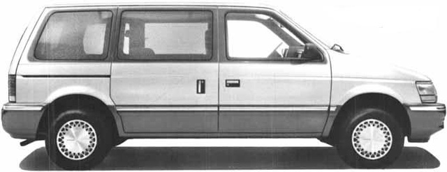 Picture of 1991 Plymouth Voyager LX, exterior