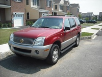 2002 Mercury Mountaineer, Picture of 2001 Mercury Mountaineer 4 Dr STD AWD SUV, exterior
