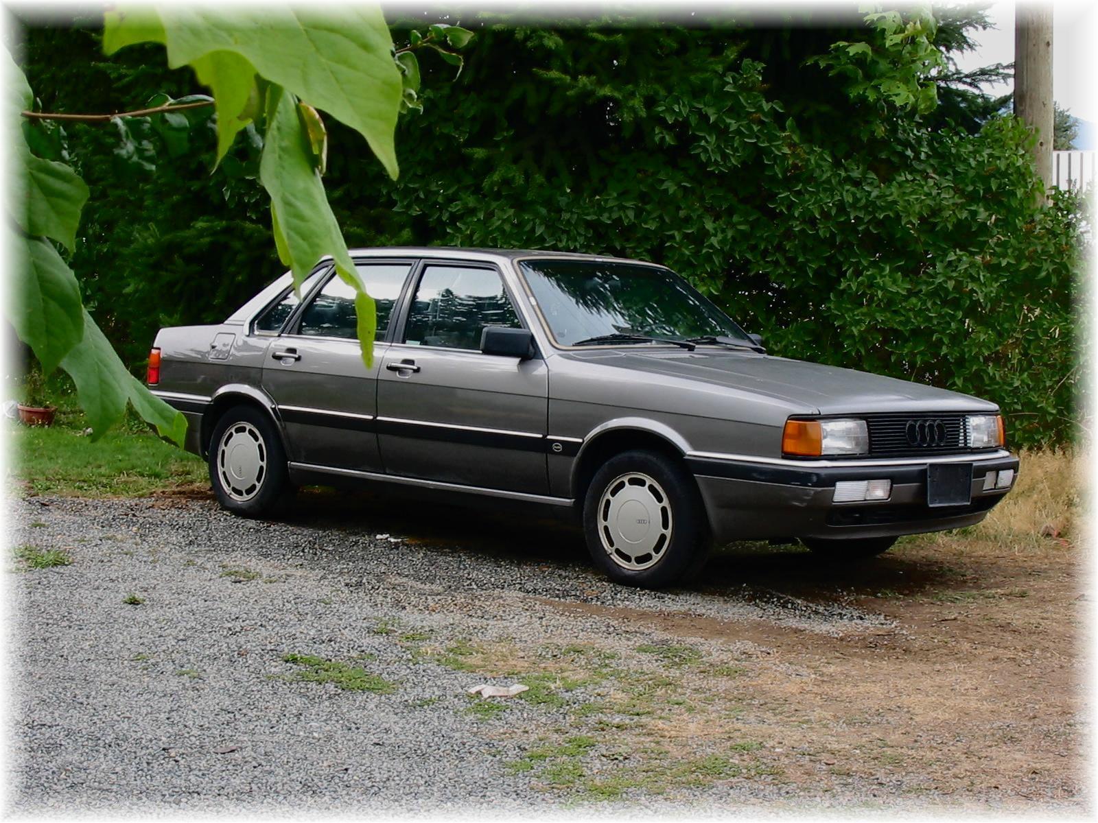1987 Audi 4000 Overview Cargurus