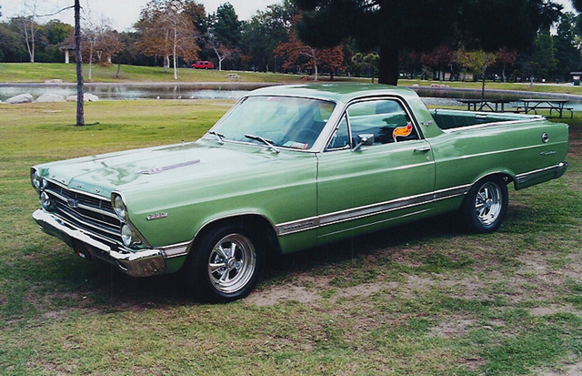 1967 Ford Ranchero, 1967 Ford Fairlane Ranchero XL with the big block 390ci engine. Fewer than 1800 were built with this option package of bucket seats center shift console., exterior, gallery_worthy