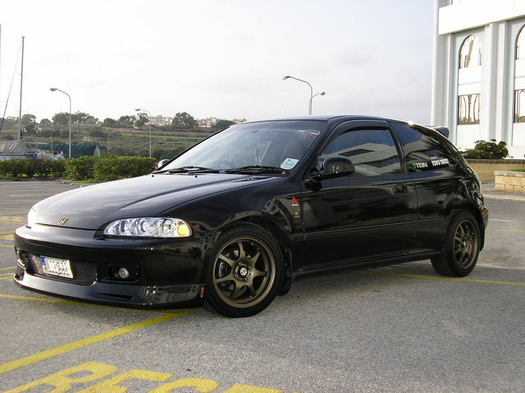 1993 honda civic hatchback - photo #25