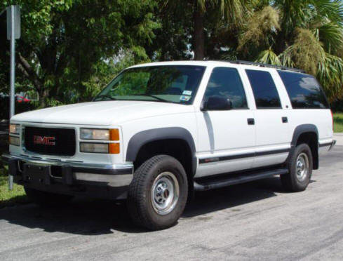 Picture of 1999 GMC Suburban K2500 SLT 4WD, exterior