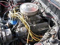 1982 Mercury Capri picture, engine