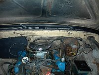 1977 Ford F-150, Just got done cleaning it., engine