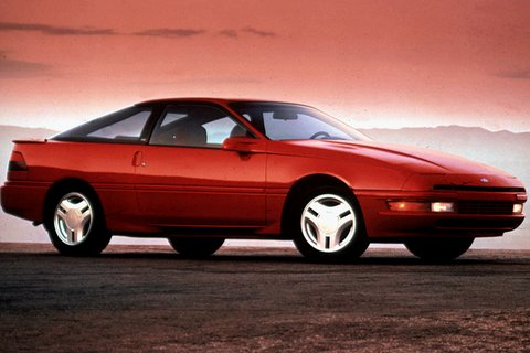 1992 Ford Probe LX, 1992 Ford Probe 2 Dr LX Hatchback picture, exterior