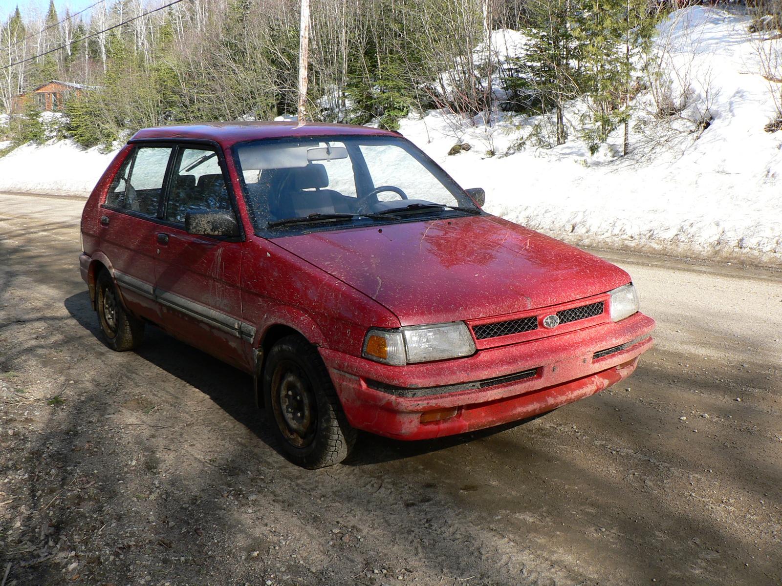 Subaru justy 12 automatic 1994