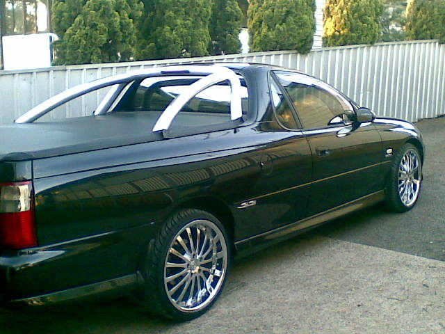 2001 Holden Commodore, mick's Holden Commodore ss ute, exterior, gallery_worthy