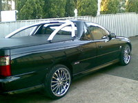 2001 Holden Commodore, mick's Holden Commodore ss ute, exterior