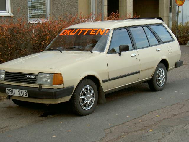 mazda 323. 1985 Mazda 323 picture,
