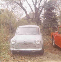 1965 Austin Mini Picture Gallery