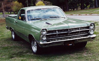 1967 Ford Ranchero, Big Block 390 center shift console bucket seats. The Fairlane Ranchero was only made 1 year. Very few with these options. Cool Car!!, exterior, gallery_worthy