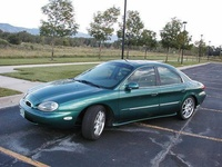1996 Mercury Sable, 1996 Ford Taurus 4 Dr LX Sedan picture, exterior
