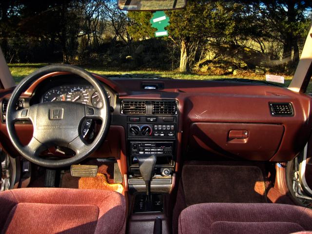 1993 Honda Accord 4 Dr EX; Honda Accord 2010 Sedan Interior.