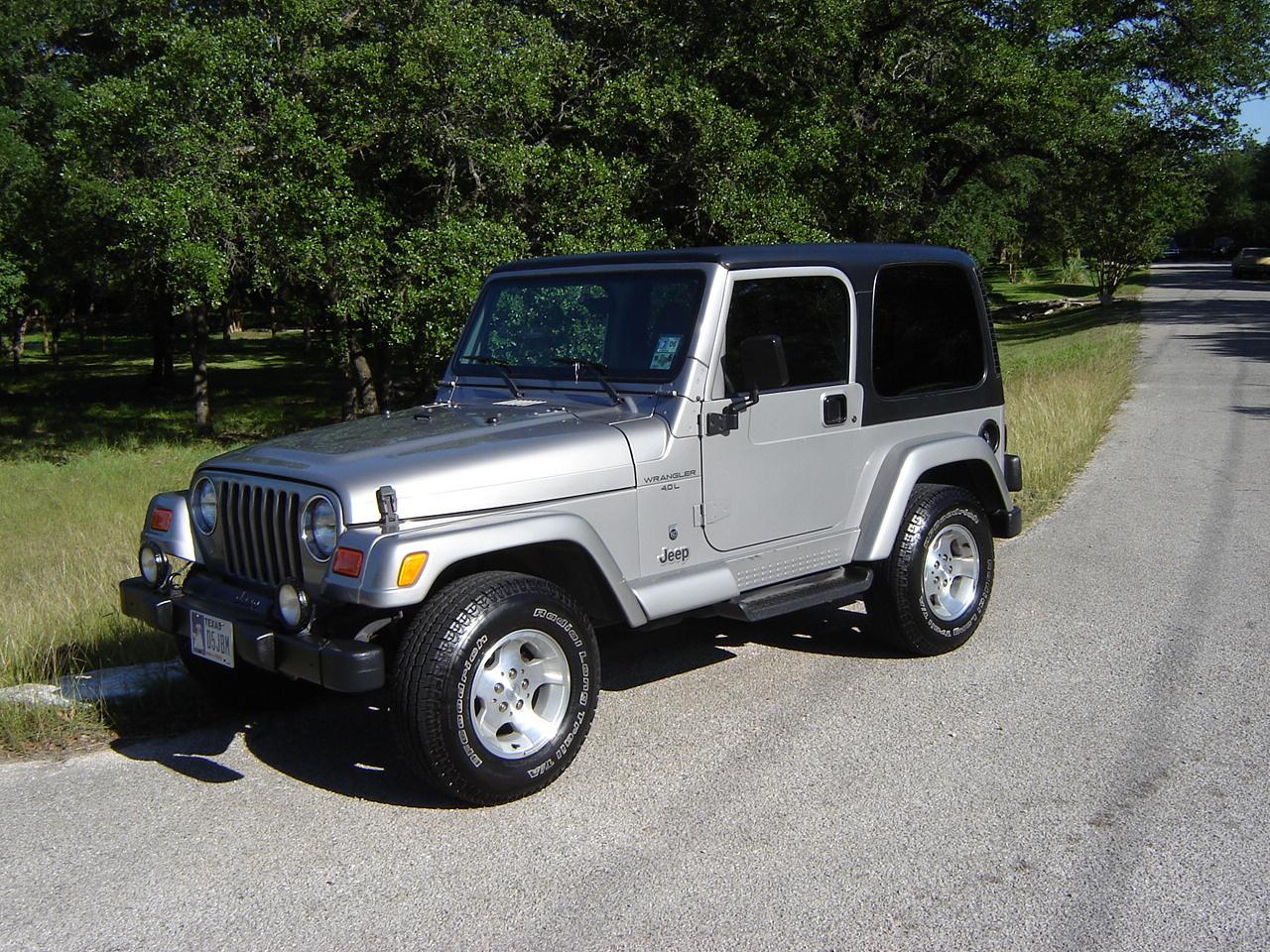 Jeep Wrangler Sport Pic X