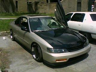 1995 Honda Accord EX Coupe, My 95 honda accord , exterior