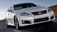 2009 Lexus IS F, Front view, exterior, manufacturer