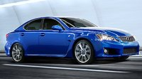 2009 Lexus IS F, side view, exterior, manufacturer