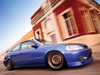 1999 Honda Civic Coupe Picture Gallery