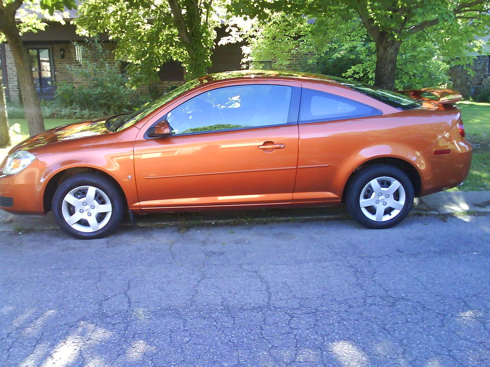Chevrolet Cobalt Questions 07 Cobalt Sunburst Orange Cargurus