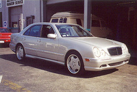 2000 Mercedes-Benz E-Class E55 AMG, 2000 Mercedes-Benz E55 AMG 4 Dr STD Sedan picture, exterior