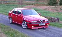 1995 Alfa Romeo 155 Overview