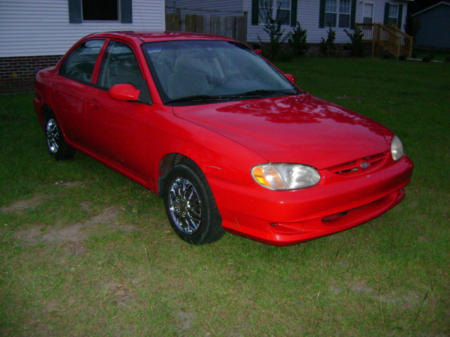 Picture of 2000 Kia Sephia LS, exterior