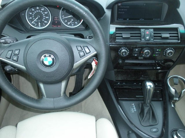 Bmw 650i Convertible Interior. 2007 BMW 6 Series 650i