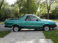 1978 Subaru BRAT Overview