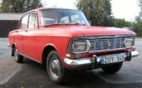 1975 Moskvitch 408 Overview