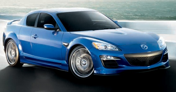 2010 Mazda RX-8, Front-quarter view, exterior, manufacturer
