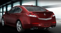 2010 Acura TL, back view, exterior, manufacturer