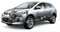 2010 Mazda CX-7, exterior, engine, manufacturer