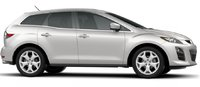 2010 Mazda CX-7, side view, exterior, manufacturer