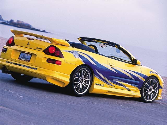 2001 Mitsubishi Eclipse Spyder GT Spyder picture, exterior