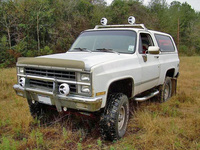 1982 Chevrolet Blazer Overview