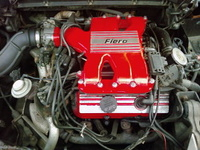 1985 Pontiac Fiero GT picture, engine