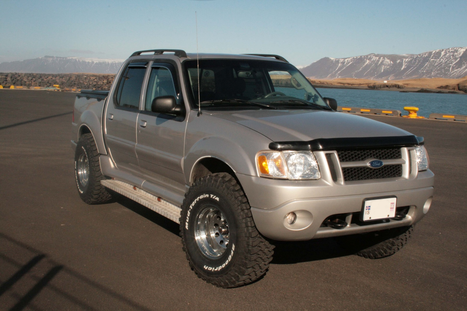 picture of 2005 ford explorer sport trac 4 dr xlt 4wd crew cab sb exterior. Black Bedroom Furniture Sets. Home Design Ideas
