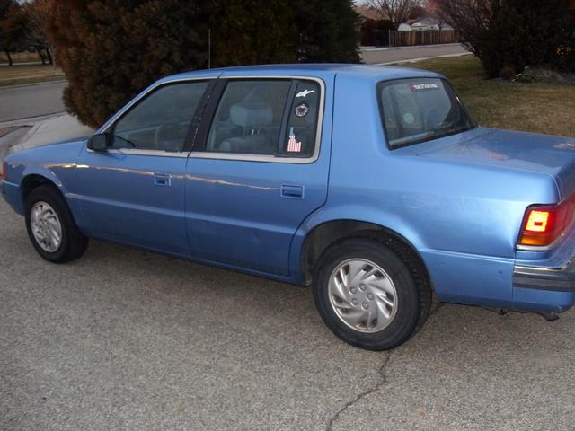 Picture of 1990 Dodge Spirit 4 Dr STD Sedan, exterior, gallery_worthy