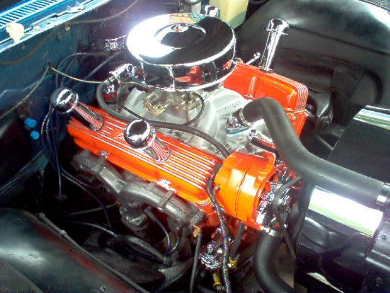 Picture of 1960 Chevrolet Biscayne, engine
