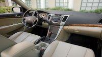 2010 Hyundai Sonata, dashboard, interior, manufacturer