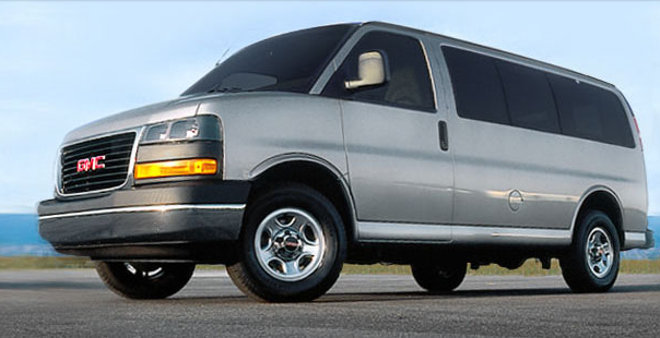 2010 GMC Savana, side view, exterior, manufacturer