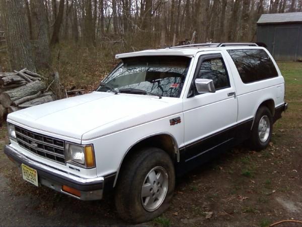1988 Chevy S10 Blazer 2Wd V6 Diagram | Chevy Blazer